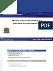 FP Relatorio Anual Divida Publica 2010