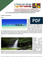 Philippines Natural Wonders