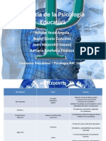 Historia de la Psicología Educativa grupo 6