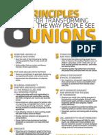 8 Principles Transforming Unions AFL-CIO