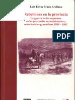 Rebeliones en La a Capitulo II - Luis Ervin Prado Arellano