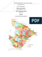 Geografia de Sergipe Se