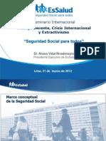 Seguridad Social Para Todos-Alvaro Vidal