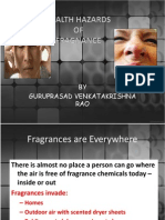 Health Hazards of fragnance