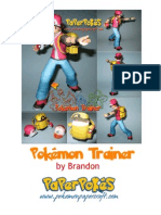 Pokemon Trainer A4 Lined