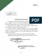 Scrisoare Instiintarere Seria IX Ministerul Apararii/ Introduction to NATO