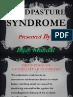 Good Slideshow on Good Pasture Syndrome