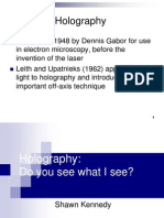 Holography Slids