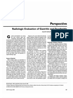Radio Logic Evaluation of Gastritis and is