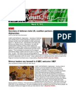 Roundup - Mar. 19, 2012