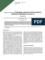 Alkaloid Extraction