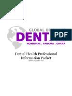 Dental HCP Packet