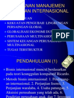 1. Peranan Manajemen Keuangan Internasional MKI Warsono