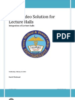 Video Conferencing Lectures Hall