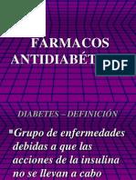 13. Medicamentos antidiabéticos