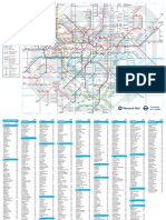 Oyster Rail Services Map