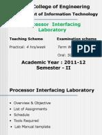 Lab Presentation 09.12.10