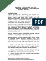 Himpunan Soal Pjn Dan Kode Etik Notaris