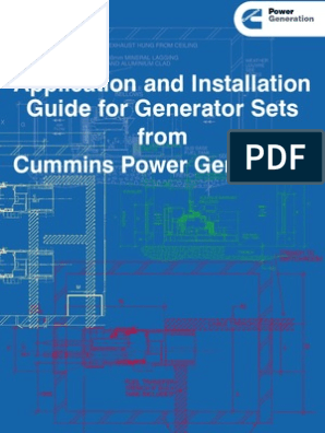 Application and Installation Guide for Generator Sets from