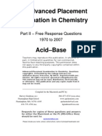 ACID BASE Questions