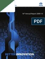 Annual Report Tata Techno 2010