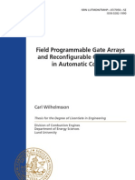 Field Programmable Gate Arrays and Reconfigurable Computing in Automatic Control