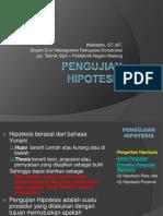 Pengujian Hipotesis (1)