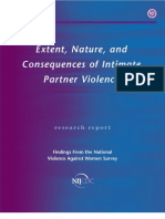 Nature of IPV,Tjaden and Thoennes, 2000