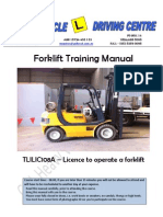 Forklift Manual G&L