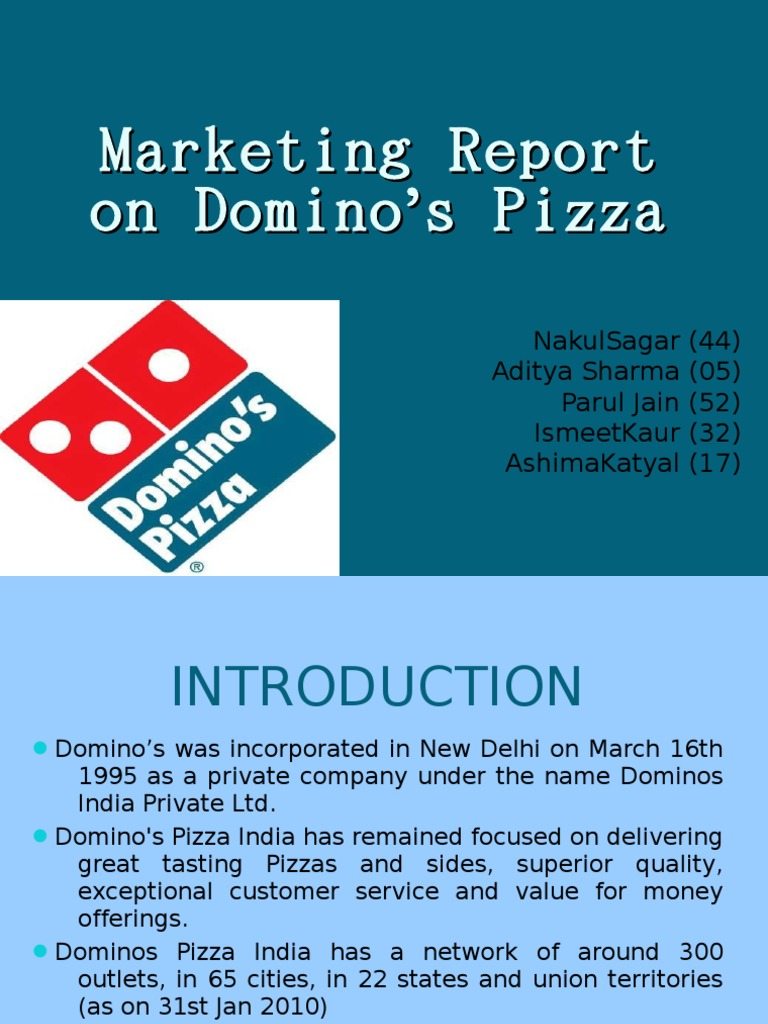 report dominos pizza Need to report the video domino's pizza (how it's made) - duration: easy homemade pizza | dominos cheese burst pizza part 2.