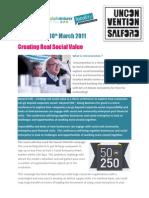 Beyond CSR-Social Value