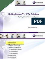 11 Rolling Stream IPTV Solution
