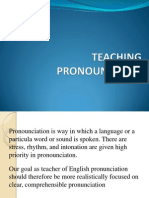 Teaching Pronouncition