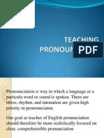 Teaching Pronouncition