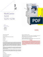XEROX Work Centre 5222-5225-5230 Service Manual Pages