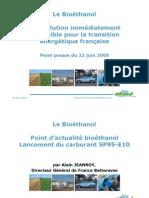 Presentation Conference Bio Ethanol