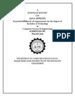 Manish Seminar Report