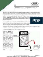 ímetro - Dicas básicas para a utilização de multímetros na instalação dos alarmes PST