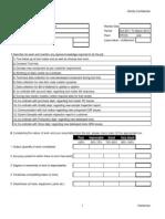 Appraisal Formats YPCPL