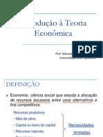 1 Introducao a Teoria Economica