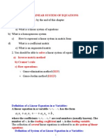 Ch.1_ Linear System of Equations