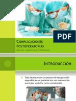Complicaciones Postoperatorias FINAL