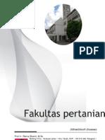 Daftar Nama Dosen Pertanian Universitas an