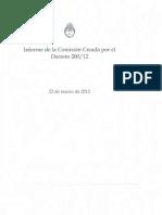 Informe Comision 200-12