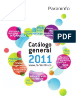 Paraninfo Catalogo General 2011