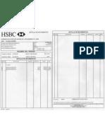 Estado Cuenta HSBC Octubre 2008