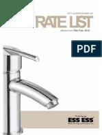 Ess Price List PDF