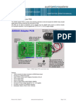 AS5045 Adapter Board Operation Manual RevA02