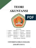 MAKALAH TEORI AKUNTANSI