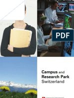 Campus Research Switzerland 2008 e